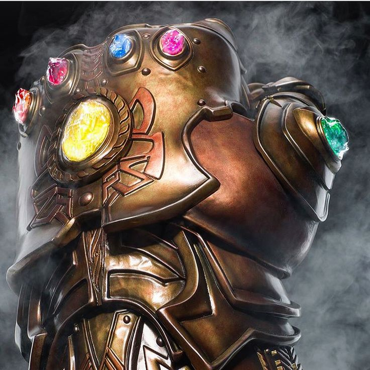 Thanos loves his infinity gauntlet