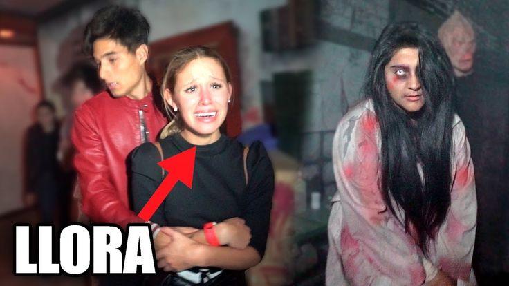 ENTRAMOS A UN MANICOMIO TERRORIFICO!! *termina llorando*