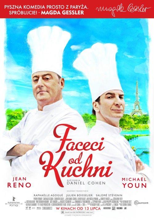 """""""Faceci od kuchni""""  - popularna komedia z 2012 r. Ceniony kucharz rywalizuje o wpływy ze specjalistą od kuchni molekularnej."""