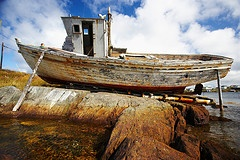Old Boat on Change Islands