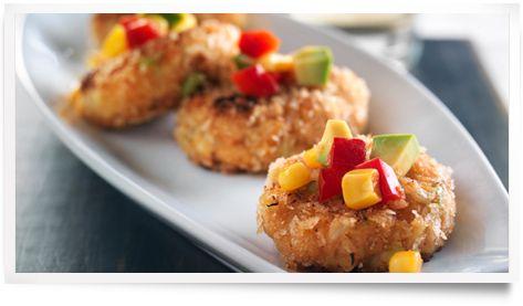 Sauce DianaMD et Marinade :: Recettes :: Beignets de crabe épicés