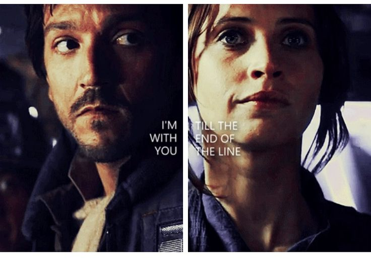 rebelcaptain <3 (jyn and cassian)