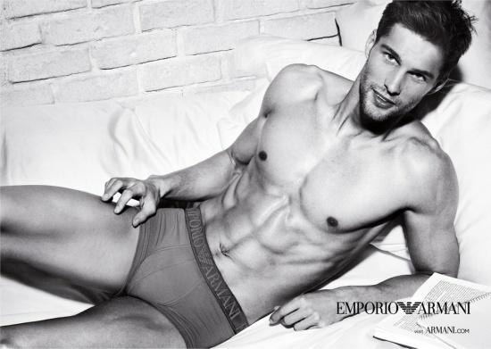 Emporio Armani Underwear & Armani Jeans Spring/Summer 2012 Ad Campaign