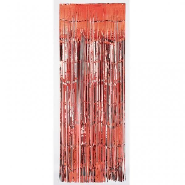 Red Metallic Door Curtain Party Decoration #Amscan #AllOccasionsValentinesDay