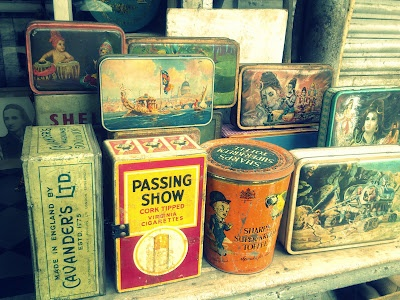 Tin Boxes at Chor Bazaar