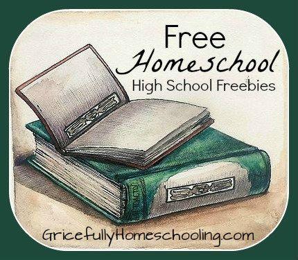 FreeHomeschoolHighSchoolFreebies