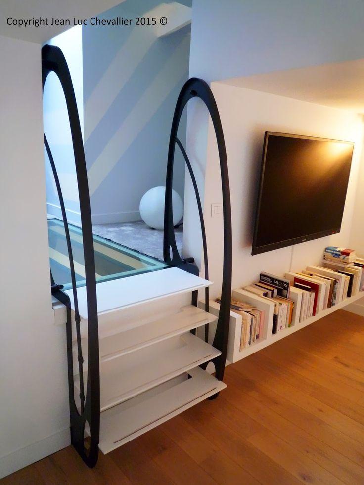 99 best images about escalier design on pinterest. Black Bedroom Furniture Sets. Home Design Ideas