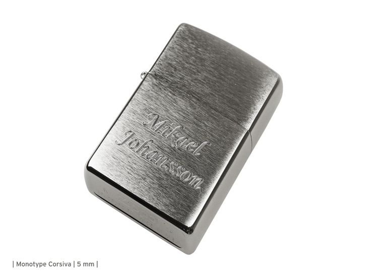 Are you searching for trendy zippo? We Get Personal UK is the place where you can get trendy zippo brushed chrome online at low price of £26.00. Choose your own engraving for the back side of the lighter. To know more information, view this image. #engravedzippo #personalisedzippo #brushedchromezippolighter #zippolighters