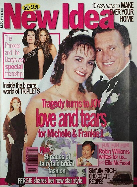 New Idea Magazine April 10, 1999 - Fergie