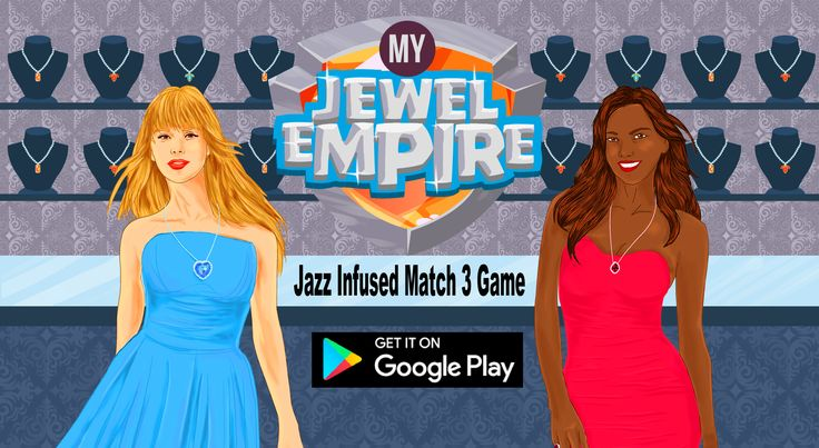 Move over Candy Crush, My Jewel Empire launches for the sophisticated, who desires waterfalls and jazz Download App