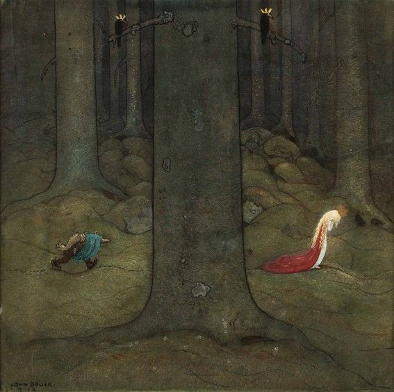 TROLLSKOGEN 1912 John Bauer (1882 – 1918)