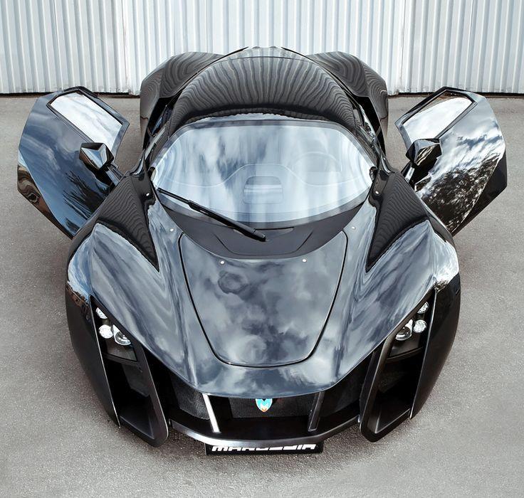 2010 Marussia Litre 420 Hp) The Russian Super Car.