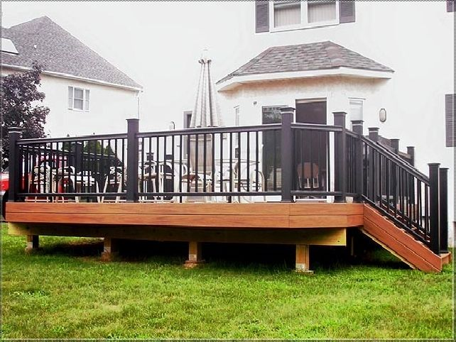 Lowes Deck Railing Video Sentry RailingSentry Railing Fiberon