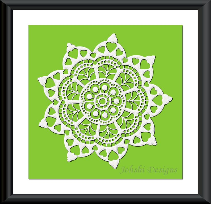 WHITE LACE on GREEN  Wall print. Printable  10 x 10 in. digital printable. instant download by JohshiDesigns on Etsy