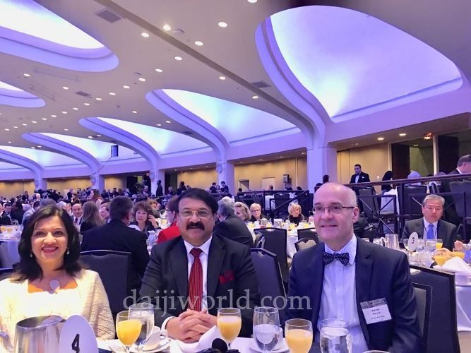 On invite for second time, Ronald Colaco joins breakfast with US President Donald Trump - Daijiworld.com
