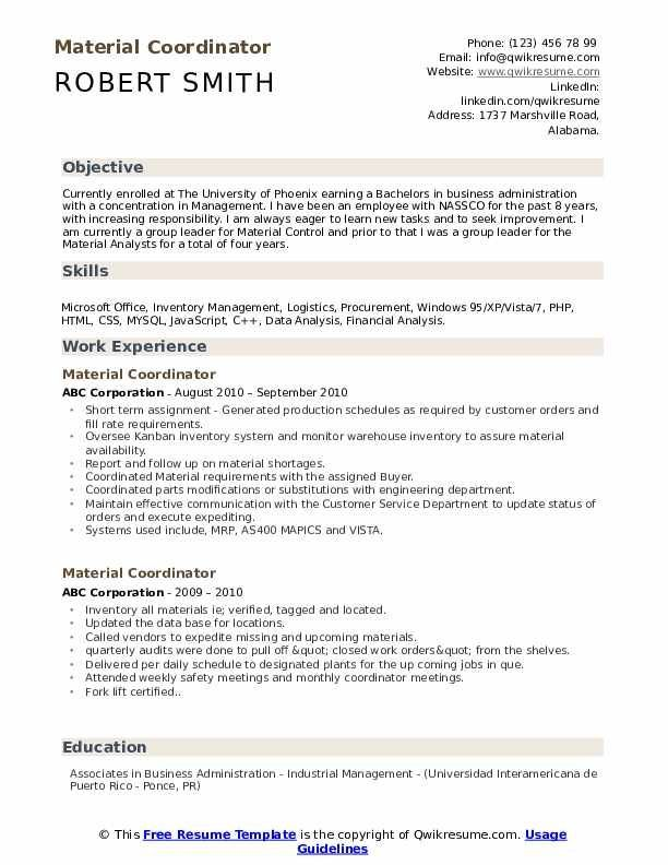 27 Administrative Coordinator Resume Sample Cover Letter Templates