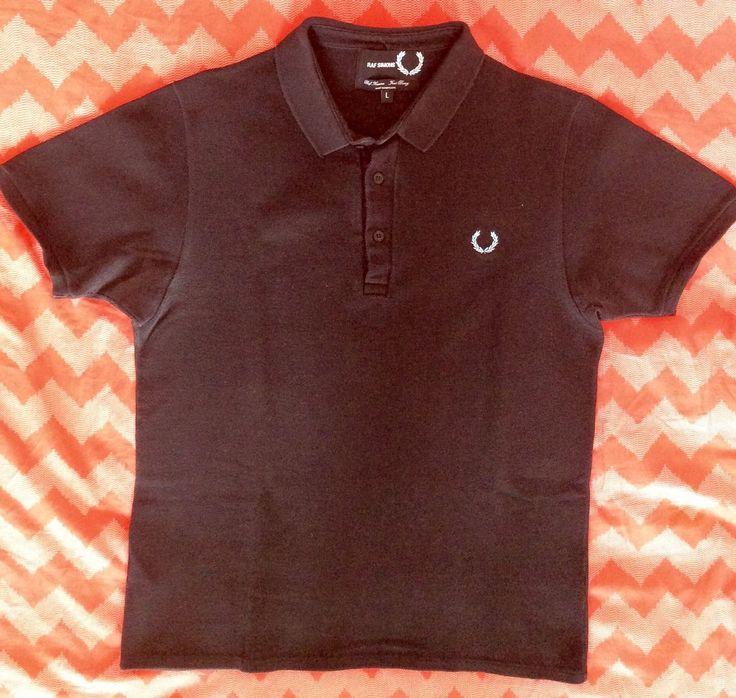 FRED PERRY x RAF SIMONS Mens t-shirt in Kleidung & Accessoires, Herrenmode, Freizeithemden & Shirts   eBay 10€