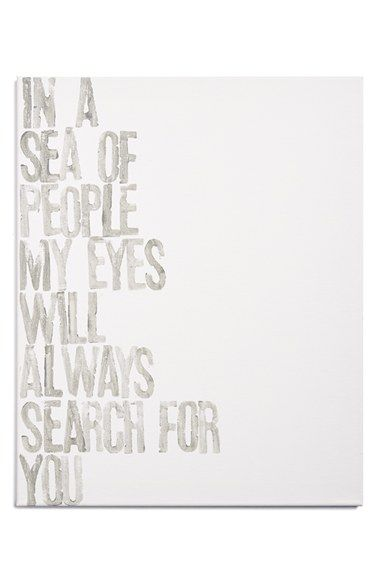 Canton Box Co. 'In A Sea Of People' Wall Art | Nordstrom