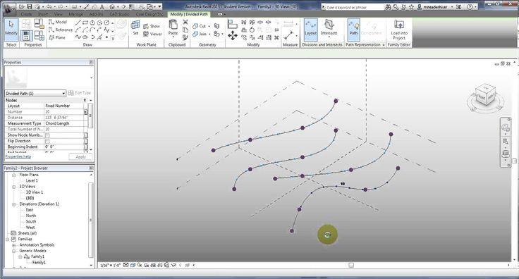Adaptive Roof Revit Bim Revit Adaptive Component 04a