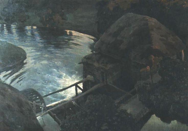 ferdynand ruszczyc  młyn malarstwo - Szukaj w Google