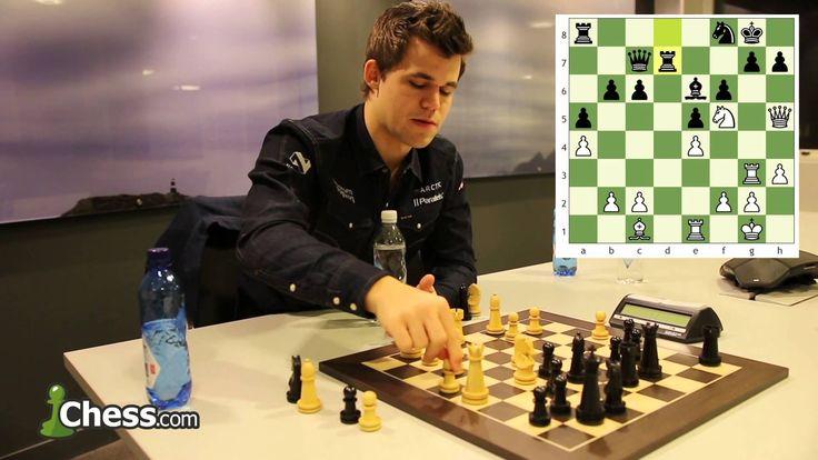 Magnus Carlsen Reviews His World Championship Game