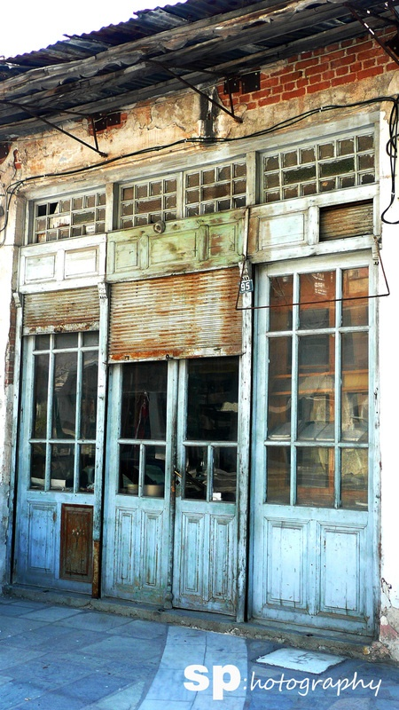 Old News Agents Shop front - Elassona, Greece