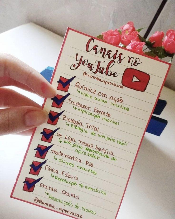 Canais de YouTube para Ajudar a Estudar