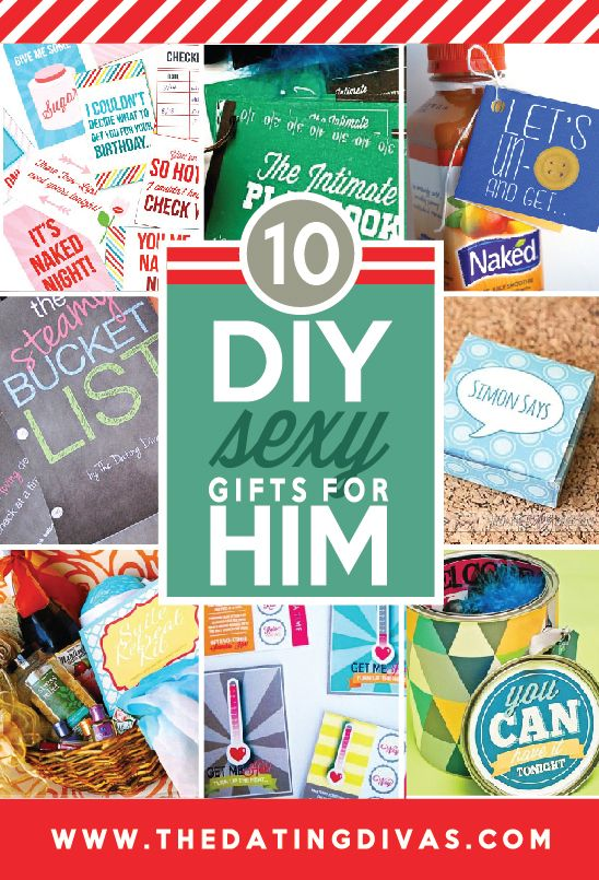 diy naughty valentines gifts for him