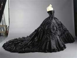 Black Gothic Wedding Gowns | Wedding Gowns: John Galliano, Fashion, Ball Gowns, Wedding Dresses, Christiandior, Christian Dior, Black Weddings Dresses, Gothic Weddings, Weddings Dresss