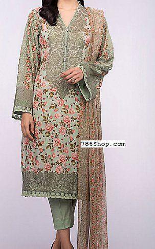 42e5e37be4 Pistachio Lawn Suit | Buy Bareeze Pakistani Dresses and Clothing online in  USA, UK
