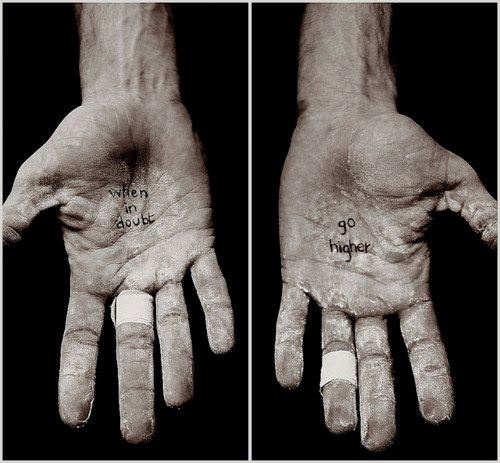Alex Honnold Hands