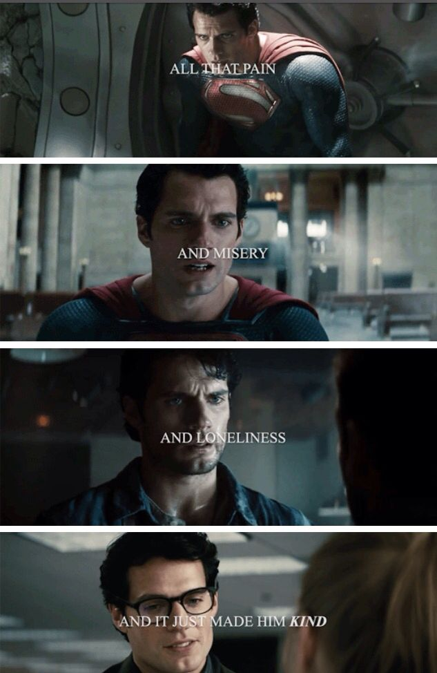 It just made him kind. Superman's best power is that he is a good person at the end of the day.