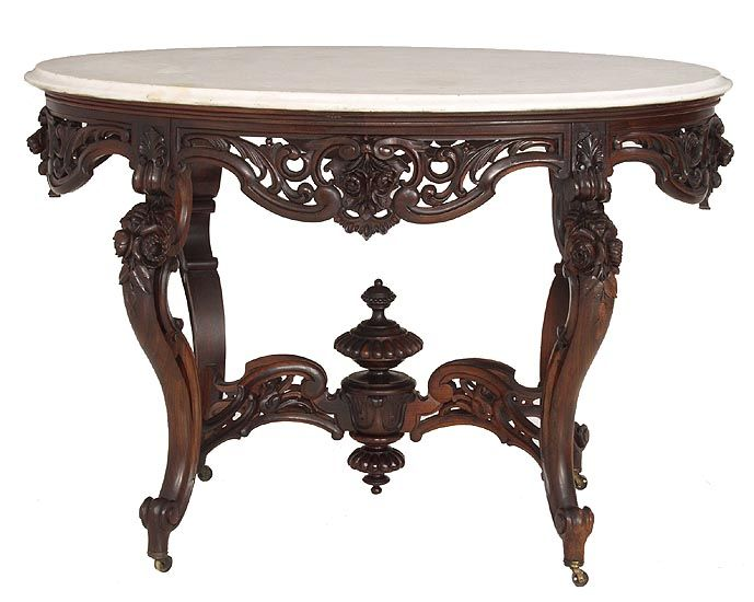 Rococo Rosewood Victorian Center Table Attributed To J. & J. Meeks With  Original Oval · Victorian FurnitureVictorian DecorAntique ... - 82 Best Baroque & Rococo Images On Pinterest Antique Furniture