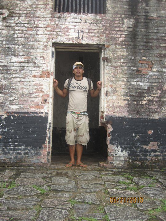 Papillon's prison cell in French Guiana