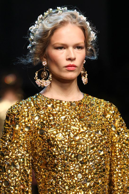 Défilé Dolce & Gabbana printemps-été 2014