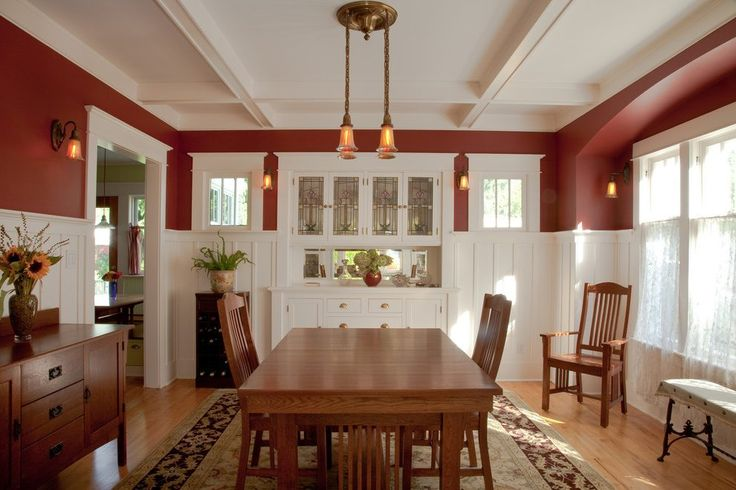 seattle Bliffert Lumber method with transitional dining room tables craftsman and rug built-in buffet