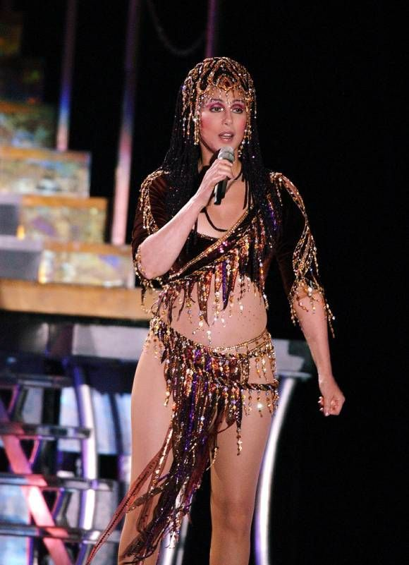 Cher's Sexiest Stage And Red Carpet Looks! [PHOTOS]