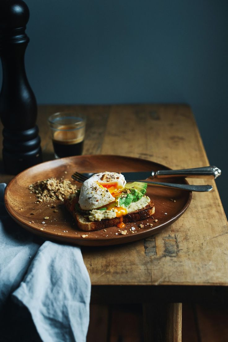 From the Kitchen I Easy Like Sunday Morning - Poached Eggs with Hummus, Avocado and Dukkah