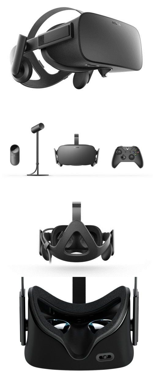 PC and Console VR Headsets: Oculus Rift Headset Virtual Reality Rpgs, Sci-Fi Shooters, Mind-Bending Puzzle G BUY IT NOW ONLY: $830.0