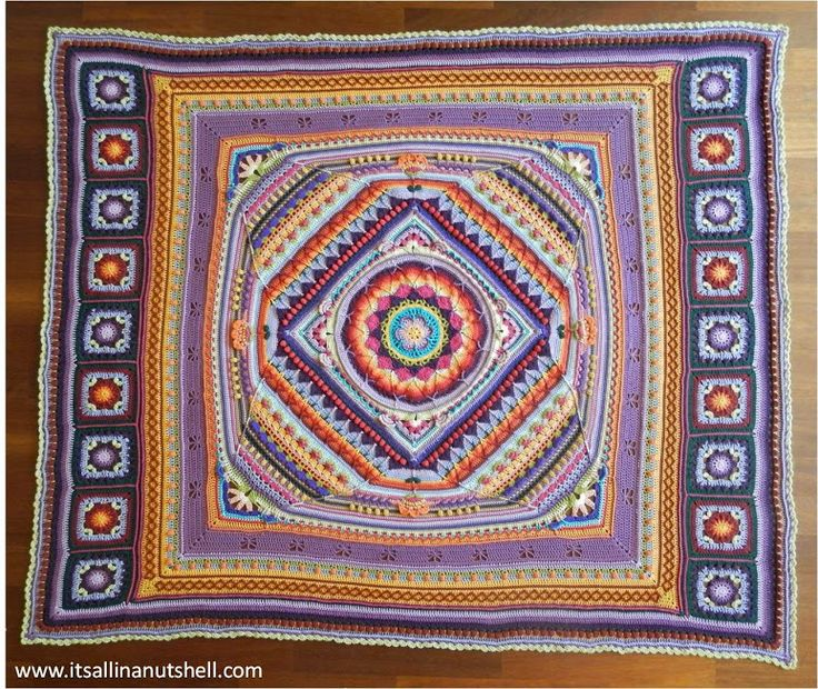 Here you can find all the video's for this  Beautiful blanket ༺✿ƬⱤღ http://www.pinterest.com/teretegui/✿༻