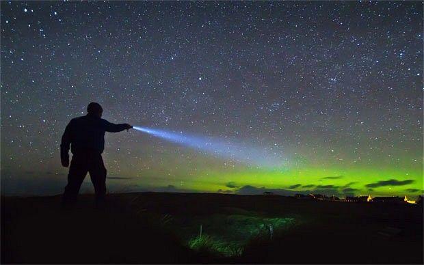 Aurora Borealis from the Isle of Lewis
