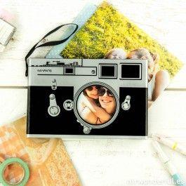 Álbum de fotos - Old camera - Scrapbook