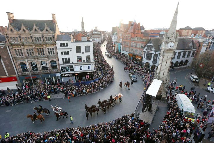 Richard III reburial: Leicester welcomes king's remains – in pictures