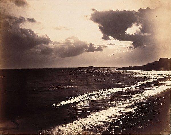 Gustave Le Gray - Étude de nuages, clair-obscur