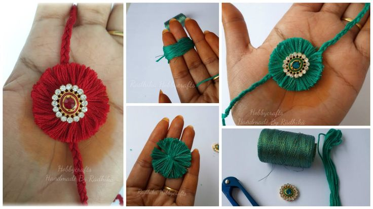 How to make rakhi