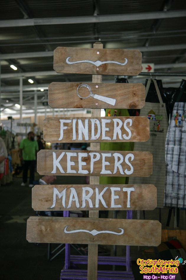 Finders Keepers Market: Located on the upper deck of the parking of Rosebank Mall, the market is held every Sunday from 9am to 4pm  http://citysightseeing-blog.co.za/2014/12/11/top-markets-in-the-city-gold-johannesburg/