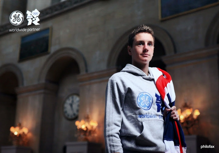 Triathlon giant Alistair Brownlee of Great Britain.