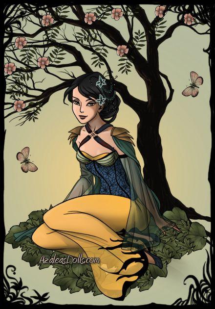 Dark Fairy Dress Up Game - Mulan by maya40 on DeviantArt