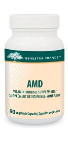 AMD by Genestra. AMD combines a blend of natural, synergistic chelating agents and trace minerals, specifically formulated as a factor in the maintenance of good health; an antioxidant for the maintenance of good health.