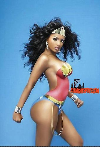 wonder girl marvel naked
